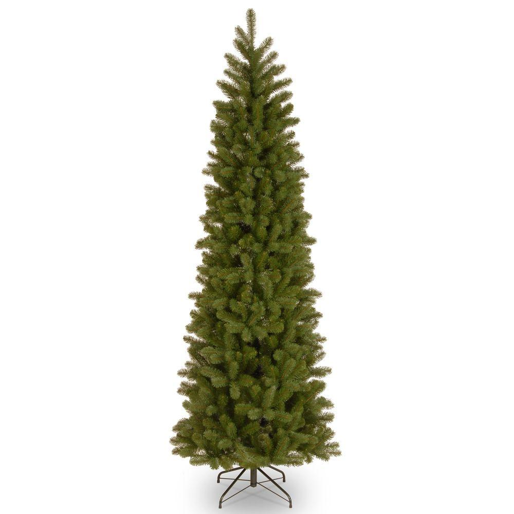 Artificial Christmas Tree Branches.7 Ft Feel Real Downswept Douglas Slim Artificial Christmas Tree